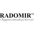 Угловые душевые кабины Radomir
