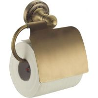 Держатель туалетной бумаги Fixsen Antik FX-61110 с крышкой