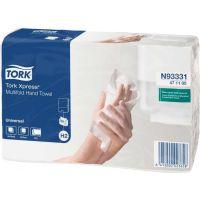 Бумажные полотенца Tork Xpress 471117 H2 белые (Блок: 20 уп. по 190 шт.)