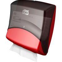 Диспенсер для протирочных материалов Tork Performance 654008 W4 красный