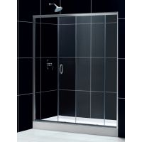 Душевая дверь в нишу RGW Passage PA-12 (1500-1540)x1950 профиль хром, стекло чистое