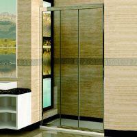 Душевая дверь в нишу RGW Classic CL-11 (760-810)х1850 профиль хром, стекло шиншилла