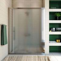 Душевая дверь в нишу GuteWetter Guwer GK-662D 150 см стекло матовое, профиль хром