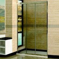 Душевая дверь в нишу RGW Classic CL-11 (960-1010)х1850 профиль хром, стекло шиншилла