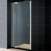 Душевая дверь в нишу RGW Hotel HO-06 (1000-1150)х1950 профиль хром, стекло чистое