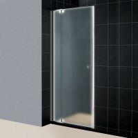 Душевая дверь в нишу RGW Hotel HO-06 (900-1050)х1950 профиль хром, стекло матовое