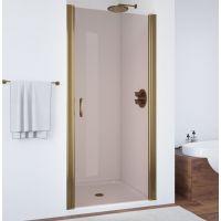 Душевая дверь в нишу Vegas Glass EP 65 05 05 профиль бронза, стекло бронза
