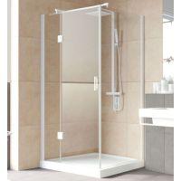 Душевой уголок Vegas Glass AFP-Fis Lux 120*90 01 01 L профиль белый, стекло прозрачное