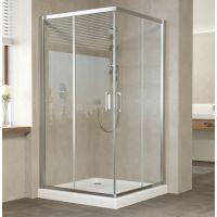 Душевой уголок Vegas Glass ZA 0110 08 01 профиль глянцевый хром, стекло прозрачное