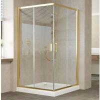 Душевой уголок Vegas Glass ZA 0120 09 01 профиль золото, стекло прозрачное