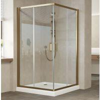 Душевой уголок Vegas Glass ZA 120 05 01 профиль бронза, стекло прозрачное