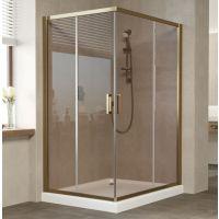 Душевой уголок Vegas Glass ZA-F 120*100 05 05 профиль бронза, стекло бронза