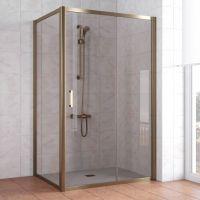 Душевой уголок Vegas Glass ZP+ZPV 120*70 05 05 профиль бронза стекло бронза