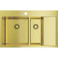 Мойка кухонная Omoikiri Akisame 78-2 LG-L светлое золото