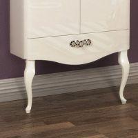 Ножки для мебели Акватон Венеция фигурные белые