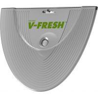 Освежитель воздуха Aroterra V-Fresh зеленый, огурец-дыня