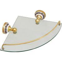 Полка Fixsen Bogema gold FX-78503AG угловая