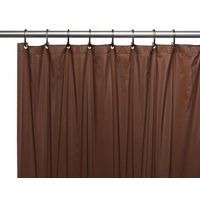 Штора для ванной Carnation Home Fashions Premium 4 Gauge Brown защитная