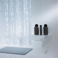 Штора для ванной Ridder Dots 32371