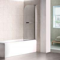 Шторка на ванну RGW Screens SC-06 800x1500 с ручкой, стекло чистое