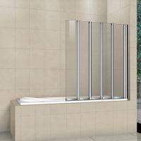 Шторка на ванну RGW Screens SC-21 1200x1500 стекло чистое