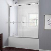 Шторка на ванну RGW Screens SC-60 1700х1500 профиль хром, стекло чистое