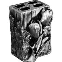 Стакан Art&Max Tulip AM-0082B-T для зубных щеток