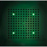 Верхний душ Bossini DREAM - Cube Light H37451 CR с хромотерапией