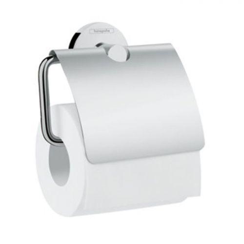 HG 41 723 000 Logis Universal Держатель туалетной бумаги, с крышкой