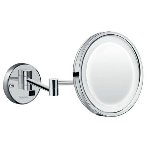 HG 73 560 000 Logis Universal Косметическое зеркало 3х, с подсв., L=400 мм,Ø160/217 мм, 220V