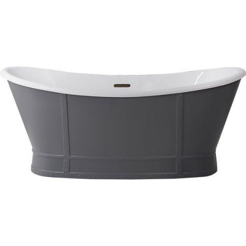 Акриловая ванна BelBagno BB33-CF36