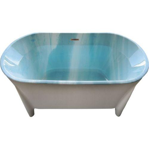 Акриловая ванна BelBagno BB40-1700 marine