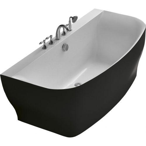 Акриловая ванна BelBagno BB74-NERO