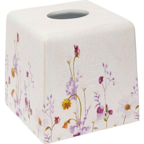 Бокс для салфеток Croscill Pressed Flowers 6A0-006O0-9928/990 белый