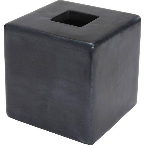 Бокс для салфеток Kassatex Noir ANO-TH-BK темно-серый