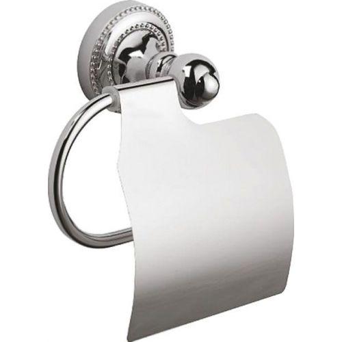 Держатель туалетной бумаги Fixsen Style FX-41110 с крышкой