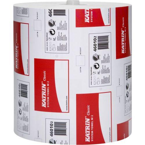 Бумажные полотенца Katrin Classic System Towel M2 46010 (Блок: 6 рулонов)