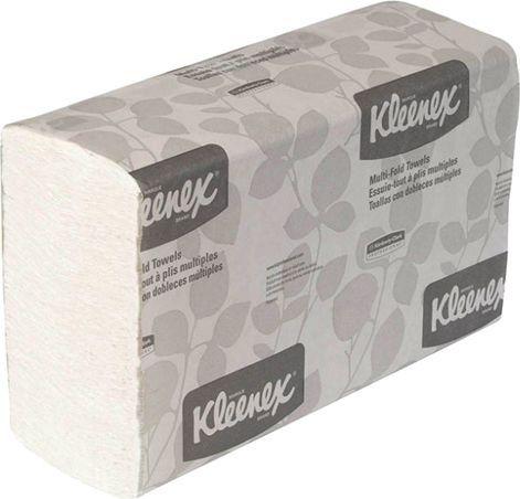 Бумажные полотенца Kimberly-Clark Kleenex MultiFold 1890 (Блок: 16 уп. по 150 шт)