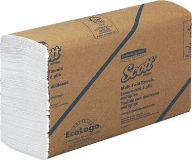 Бумажные полотенца Kimberly-Clark Scott MultiFold 3749 (Блок: 16 уп. по 250 шт)