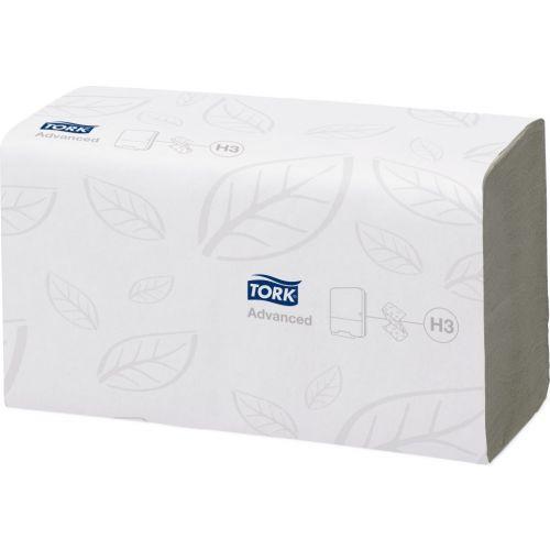 Бумажные полотенца Tork Singlefold 290163 H3 (Блок: 15 уп. по 250 шт.)