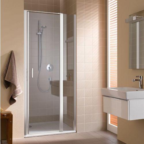CADA XS CK 1GR 10020 VPK 1-створ. маятниковая дверь 960-1010/2000 с фикс.панелью, крепление справа, стекло прозр. ESG Clean