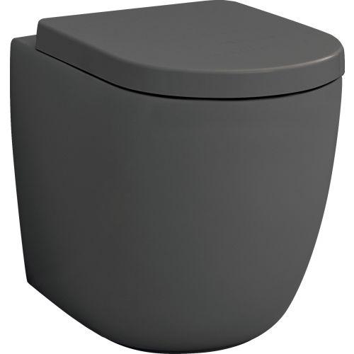 Чаша для унитаза приставного ArtCeram File 2.0 FLV005 grigio oliva, безободковая
