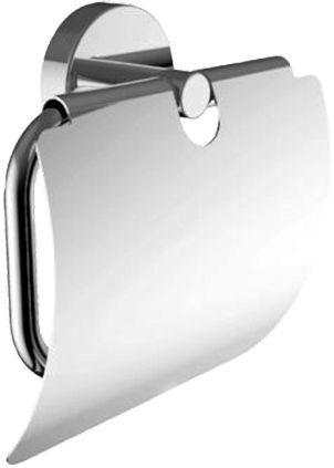 Держатель туалетной бумаги Am.Pm Move A7M341400 с крышкой, хром
