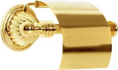 Держатель туалетной бумаги Boheme Hermitage Gold 10350