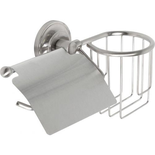 Держатель туалетной бумаги Fixsen Bruno FX-73609+10 с держателем освежителя воздуха