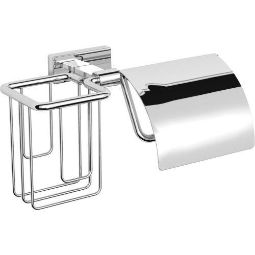 Держатель туалетной бумаги Langberger Alster 10941P с держателем освежителя воздуха