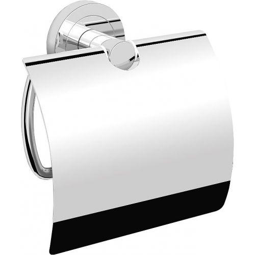 Держатель туалетной бумаги Langberger Burano 11041A с крышкой