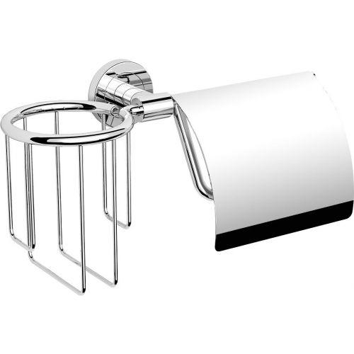 Держатель туалетной бумаги Langberger Burano 11041P с держателем освежителя воздуха