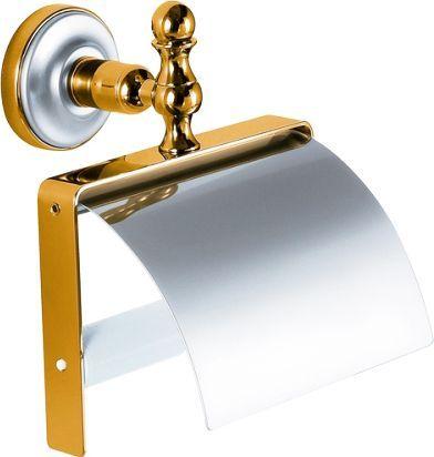 Держатель туалетной бумаги Migliore Mirella ML.MRL-M059.CRDO хром-золото