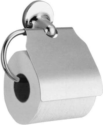 Держатель туалетной бумаги Nofer Hotel 16417.B горизонтальный, с крышкой